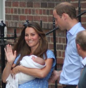 Prince William, Kate Middleton & Prince George